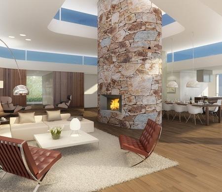 Roger Federer Living Room