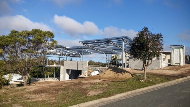Coomera Waters Residence under construction - 3