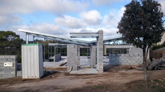 Coomera Waters Residence under construction - 2